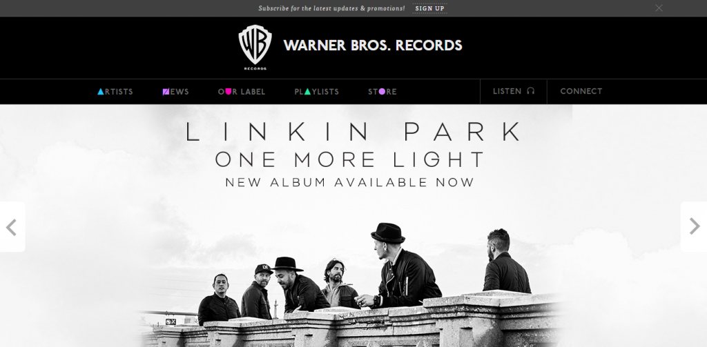 warnerbrosrecords site dela em drupal